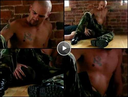 military men having gay sex video